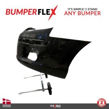 BumperFlex Bumper Stand side holding car bumper