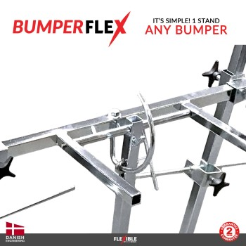 BumperFlex Bumper Stand Turning Mechanism