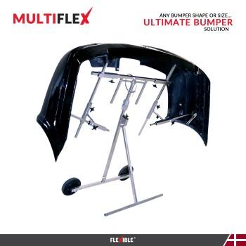 MultiFlex Bumper paint stand with large black bumper