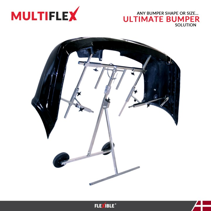 MultiFlex Bumper paint stand with large black bumper