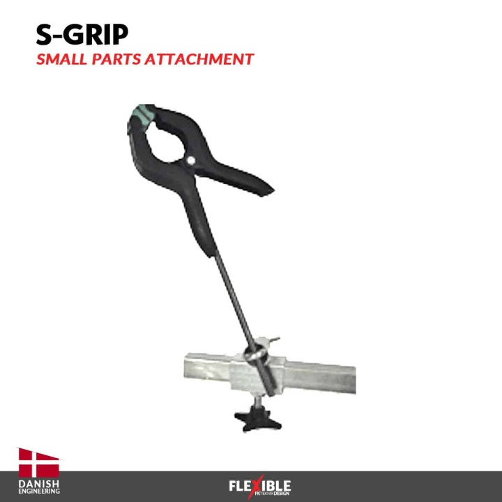 S-Grip tool for auto body paint stand