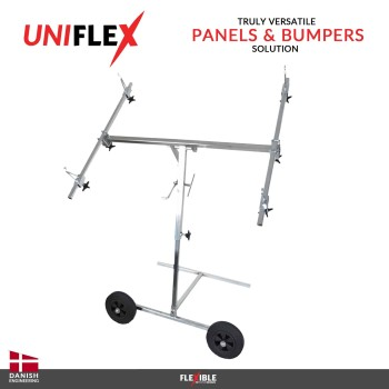 Uniflex paint stand Front View