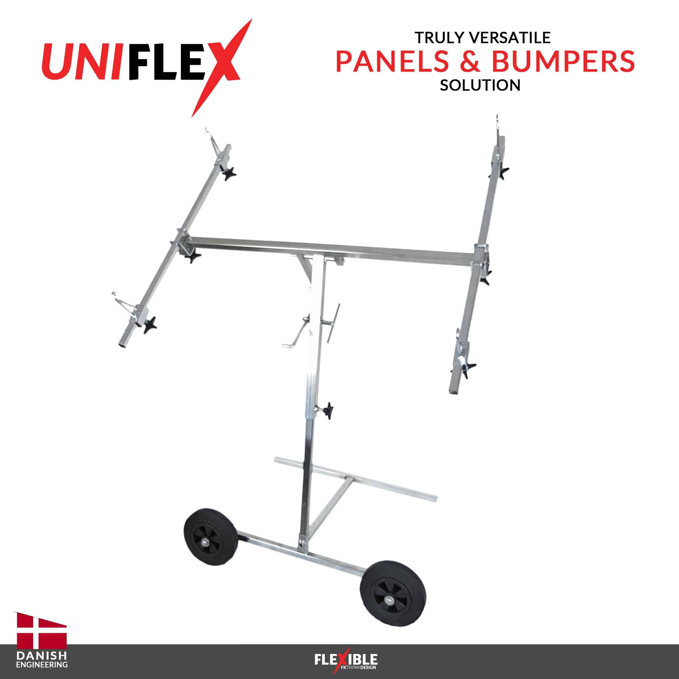 Uniflex paint stand Front View