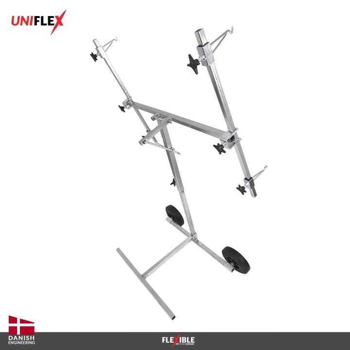 Uniflex paint stand Back View