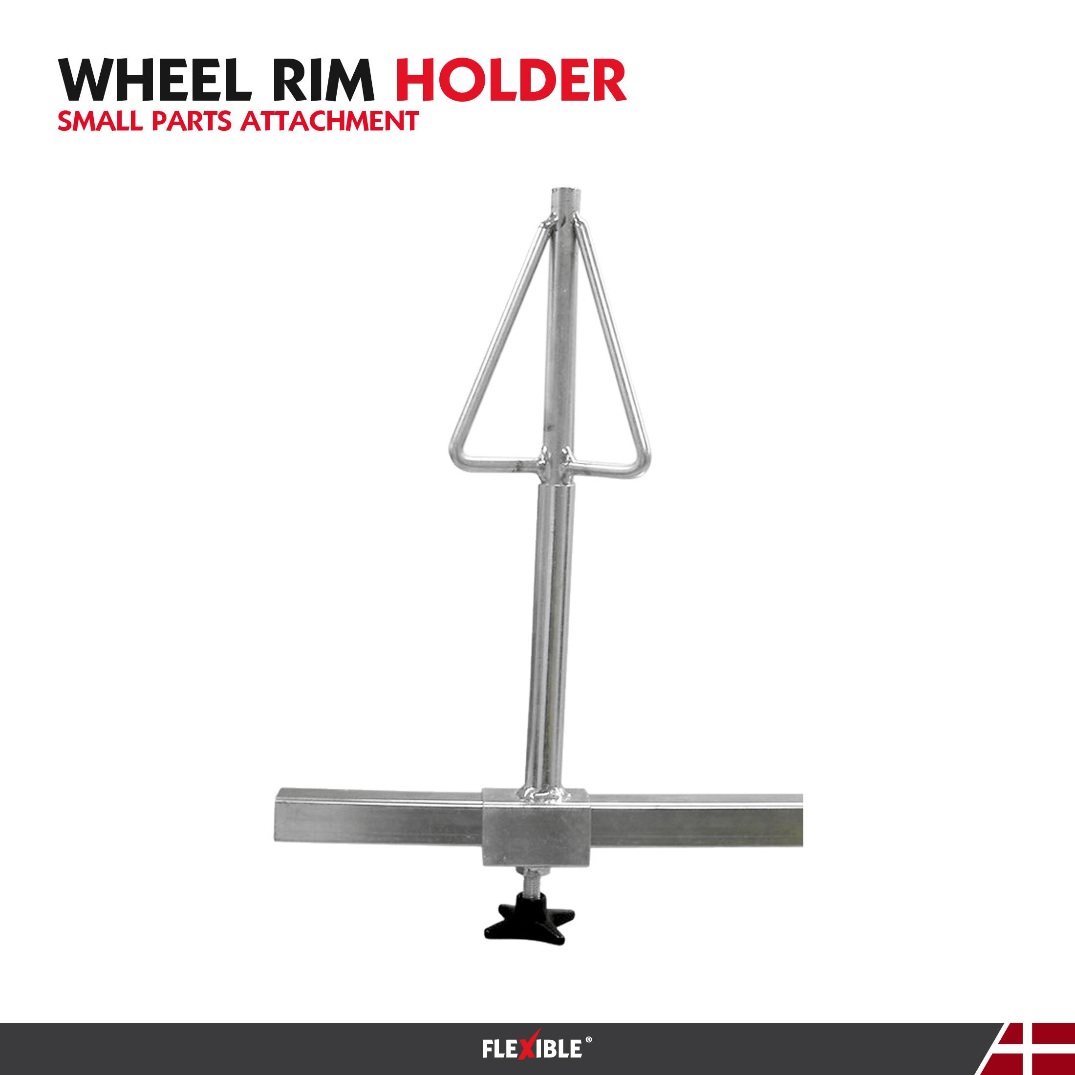 wheel rim holder attachemnt tool